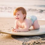 夏の赤ちゃんのスキンケア